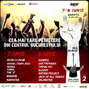Old Blacks, Rock & More Festival 2019 la Bucureşti