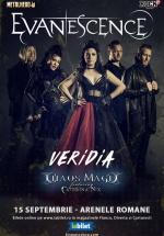Concert Evanescence la Arenele Romane din Bucureşti