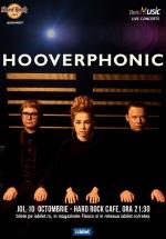 Concert Hooverphonic la Hard Rock Cafe din Bucureşti