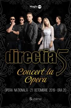 """Concert direcţia 5 – """"Concert la Operă"""" de la Opera Națională București"""