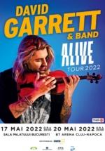 "Concert David Garrett – ""ALIVE"" la BT Arena din Cluj-Napoca"