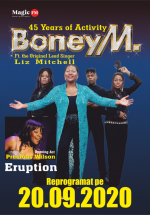 Concert Boney M. feat. Liz Mitchell la Sala Palatului din București