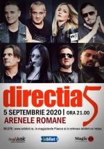 Concert direcţia 5 la Arenele Romane din București