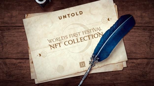 UNTOLD, primul festival din lume care lansează un NFT (Non-Fungible Token)
