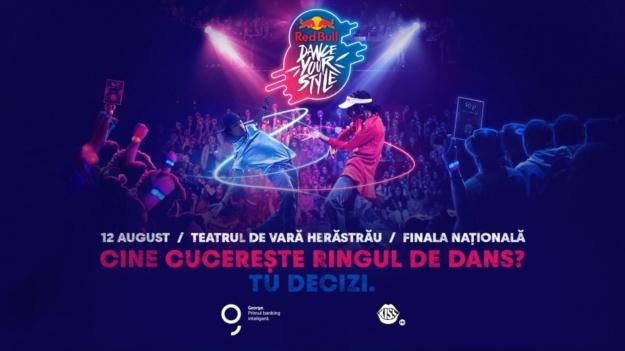 Competiția internațională Red Bull Dance Your Style în premieră în România