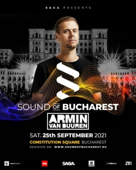 Armin van Buuren la Sound of Bucharest 2021